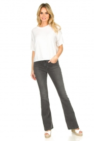 Lois Jeans |  L34 Flared jeans Raval | grey  | Picture 2