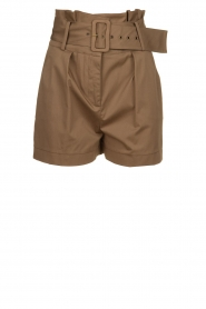 ba&sh |  Paperbag shorts Kook | taupe  | Picture 1