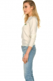 ba&sh |  Wool sweater with text Maxwell | naturel  | Picture 6
