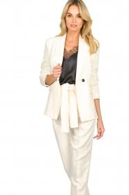 ba&sh |  Straight blazer Treat | natural  | Picture 5