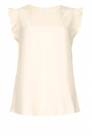 ba&sh |  Ruffle top Fani | Pink  | Picture 1