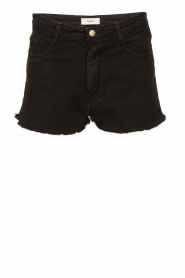 ba&sh |  Stretchy denim shorts Cluego | black  | Picture 1