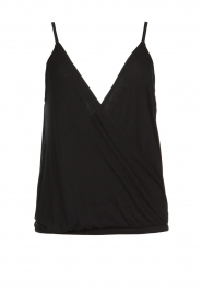 ba&sh |  Sleeveless V-neck top Miguel | black  | Picture 1