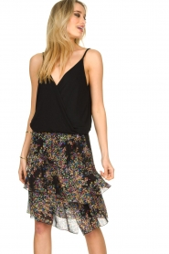 ba&sh    Sleeveless V-neck top Miguel   black    Picture 4