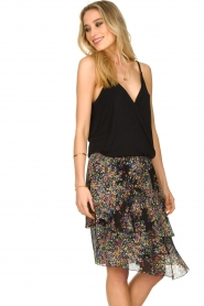 ba&sh    Sleeveless V-neck top Miguel   black    Picture 5