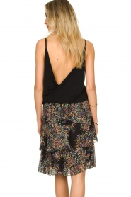 ba&sh |  Sleeveless V-neck top Miguel | black  | Picture 7