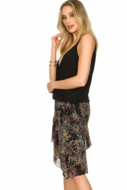 ba&sh    Sleeveless V-neck top Miguel   black    Picture 6
