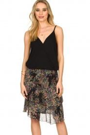 ba&sh |  Sleeveless V-neck top Miguel | black  | Picture 2