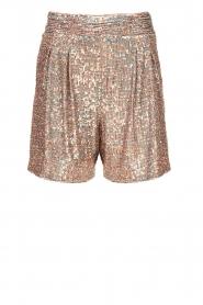 Nenette |  Sequin shorts Ercolana | pink  | Picture 1