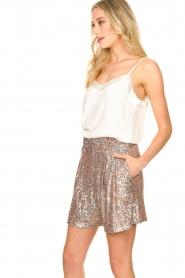 Nenette |  Sequin shorts Ercolana | pink  | Picture 5