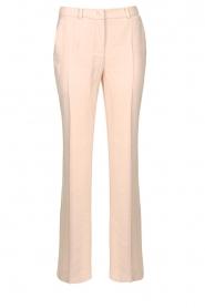 Nenette |  Wide leg trousers Euterpe | nude  | Picture 1