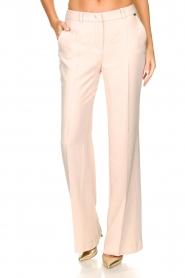 Nenette |  Wide leg trousers Euterpe | nude  | Picture 2