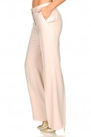 Nenette |  Wide leg trousers Euterpe | nude  | Picture 4