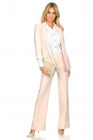 Nenette |  Wide leg trousers Euterpe | nude  | Picture 3