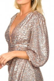 Nenette |  Sequin dress Ajar | nude   | Picture 7