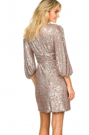 Nenette |  Sequin dress Ajar | nude   | Picture 6