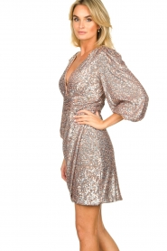 Nenette |  Sequin dress Ajar | nude   | Picture 5