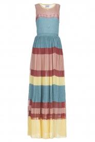 Nenette |  Knitted maxi dress Tecla | multi  | Picture 1