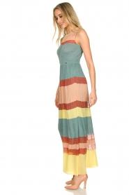 Nenette |  Knitted maxi dress Tecla | multi  | Picture 6