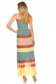 Nenette |  Knitted maxi dress Tecla | multi  | Picture 7