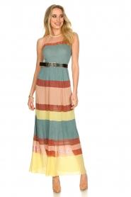 Nenette |  Knitted maxi dress Tecla | multi  | Picture 3
