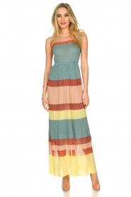 Nenette |  Knitted maxi dress Tecla | multi  | Picture 2