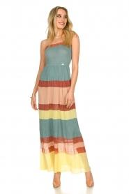 Nenette |  Knitted maxi dress Tecla | multi  | Picture 4