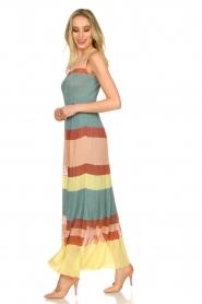 Nenette |  Knitted maxi dress Tecla | multi  | Picture 5