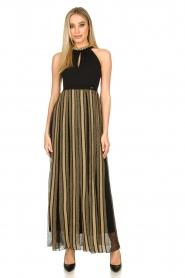 Nenette |  Maxi dress Tobia | black  | Picture 3