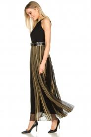 Nenette |  Maxi dress Tobia | black  | Picture 4