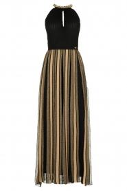 Nenette |  Maxi dress Tobia | black  | Picture 1