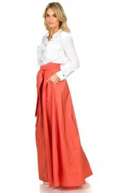Nenette |  Maxi skirt Gasper | pink  | Picture 4