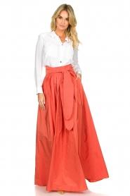 Nenette |  Maxi skirt Gasper | pink  | Picture 3