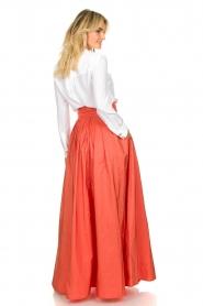 Nenette |  Maxi skirt Gasper | pink  | Picture 5