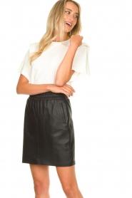 Dante 6 |  Leather skirt Eshvi | black  | Picture 1