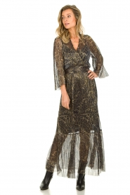 Dante 6 |  Maxi dress with leopard print Fairytale | animal print  | Picture 4