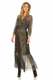 Dante 6 |  Maxi dress with leopard print Fairytale | animal print  | Picture 3