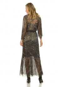 Dante 6 |  Maxi dress with leopard print Fairytale | animal print  | Picture 6