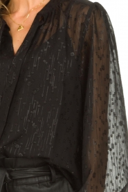 Dante 6    See-through blouse with undertop Marylee   black    Picture 7