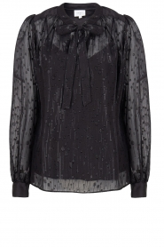 Dante 6 |  See-through blouse with undertop Marylee | black  | Picture 1