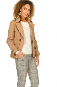 STUDIO AR BY ARMA |  Trenchcoat Melanie | brown  | Picture 4