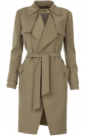 STUDIO AR BY ARMA |  Trenchcoat Cecilia | green  | Picture 1