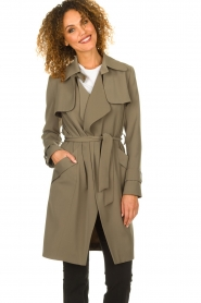STUDIO AR BY ARMA |  Trenchcoat Cecilia | green  | Picture 2