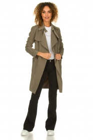 STUDIO AR BY ARMA |  Trenchcoat Cecilia | green  | Picture 3