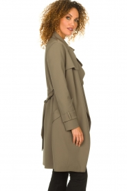 STUDIO AR BY ARMA |  Trenchcoat Cecilia | green  | Picture 5