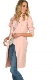STUDIO AR BY ARMA |  Trenchcoat Cecilia | pink  | Picture 5
