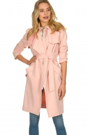 STUDIO AR BY ARMA |  Trenchcoat Cecilia | pink  | Picture 2
