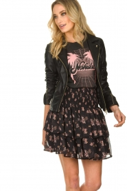 STUDIO AR BY ARMA |  Leather jacket Cherry | black  | Picture 2