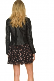 STUDIO AR BY ARMA |  Leather jacket Cherry | black  | Picture 5