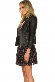 STUDIO AR BY ARMA |  Leather jacket Cherry | black  | Picture 4